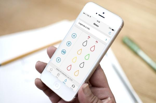 AVIS Viareggio app iPhone 5 bianco