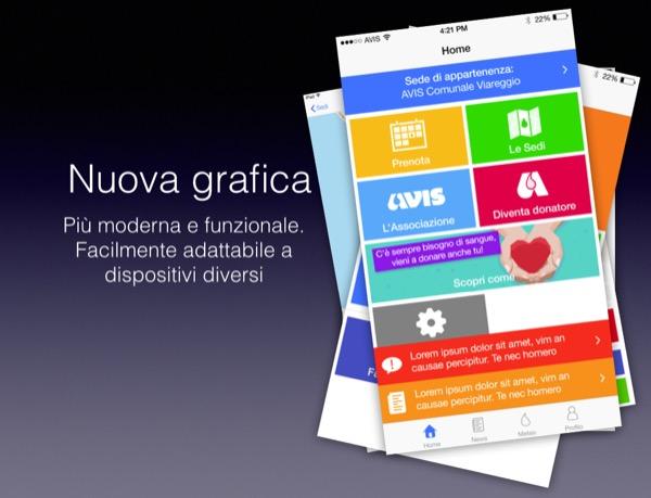 App AVIS Toscana 2.0 Andrea Corsi Elio Francesconi Dario Crisafulli Matteo Contrini 1