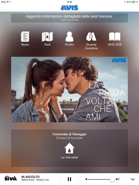 AVIS Nazionale app iOS App Store 1